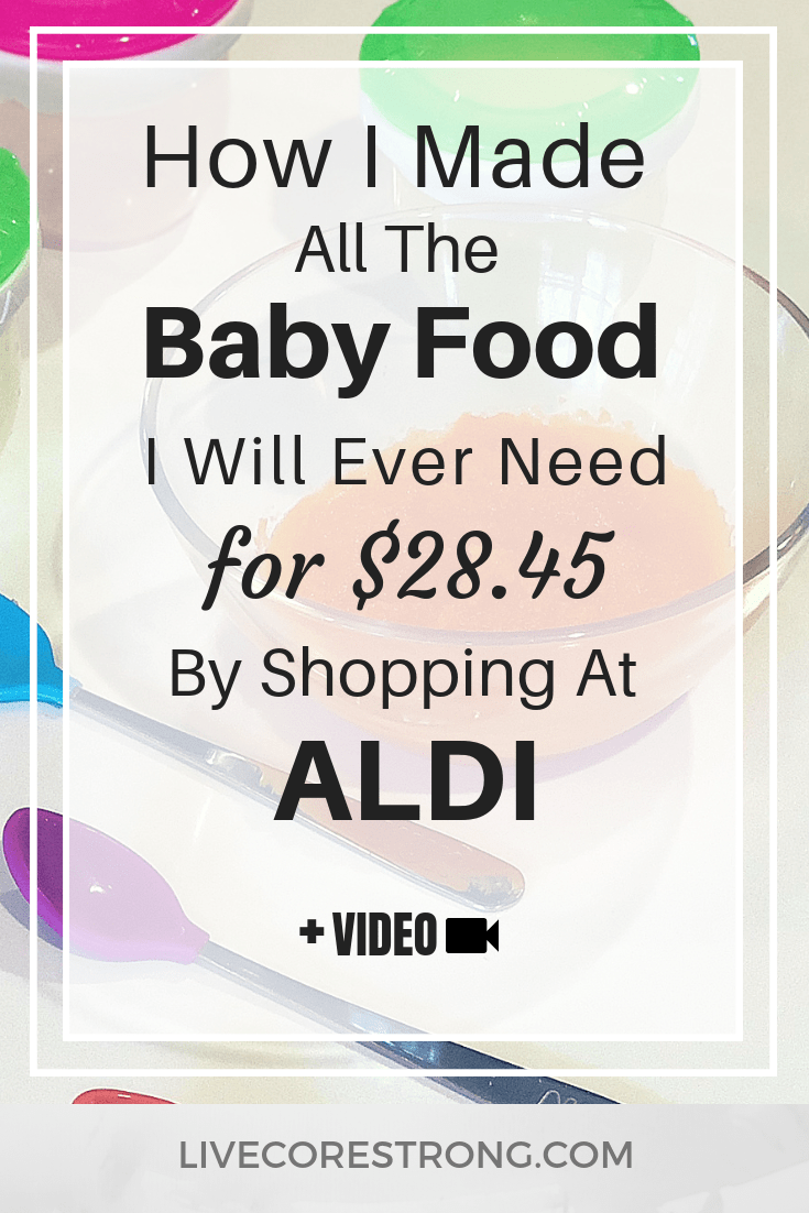 How to save on baby food